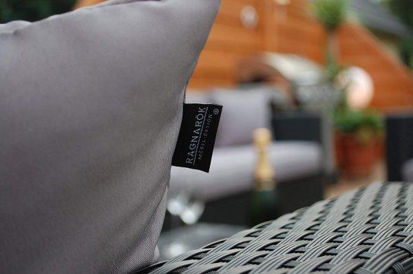 Lounge Sofa Narvik - sg - Polster & Rattan Nahaufnahme